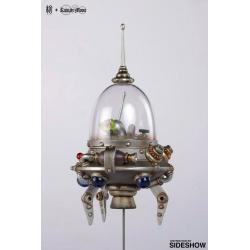Mitsuji Kamata x Manas SUM Estatua Search Small Spaceship Picoloid k-6 30 cm