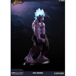 Street Fighter Estatua 1/4 Oni Akuma 45 cm