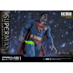 Batman: The Dark Knight Returns Statue 1/3 Superman Deluxe Ver. 88 cm
