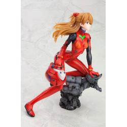 Neon Genesis Evangelion PVC Statue 1/6 Asuka Langley Shikinami Q Plug Suit Version :RE 22 cm