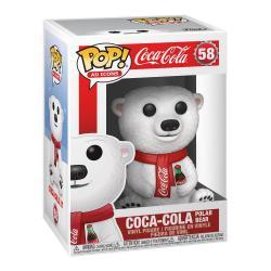 Coca-Cola Figura POP! Ad Icons Vinyl Coca-Cola Polar Bear 9 cm