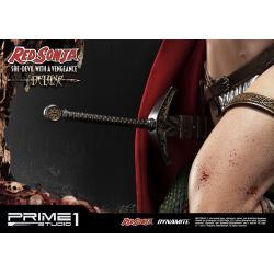 Red Sonja Estatua Red Sonja She-Devil with a Vengeance Deluxe Version 79 cm