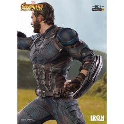Vengadores Infinity War Estatua BDS Art Scale 1/10 Captain America 23 cm