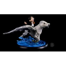 Harry Potter Diorama Q-Fig MAX Harry & Buckbeak 13 cm