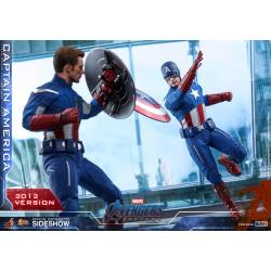 Captain America (2012 Version) Sixth Scale Figure by Hot Toys Avengers: Endgame - Movie Masterpiece Series