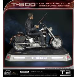 T-800 ON MOTORCYCLE LIMITED SIGNATURE EDITION TERMINATOR BY DARKSIDE COLLECTIBLES STUDIO