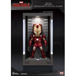 Iron Man 3 Mini Egg Attack Action Figure Hall of Armor Iron Man Mark VII 8 cm