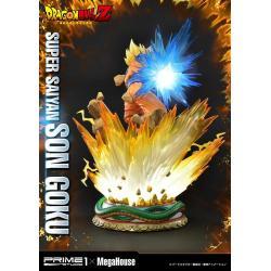 Dragon Ball Z Statue 1/4 Super Saiyan Son Goku Deluxe Version 64 cm