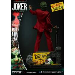THE JOKER 2019 FILM 1/3 STATUE BONUS VERSION
