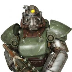 Fallout 4 Life-Size Statue T-51b Power Armor 213 cm