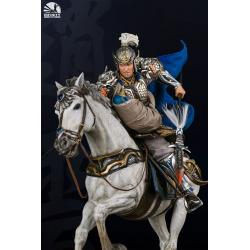 Three Kingdoms: Five Tiger Generals Series Statue Zhao Yun Ver2.0 Deluxe Edition 81 cm