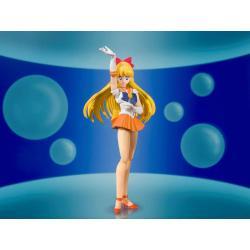 Sailor Moon S.H. Figuarts Action Figure Sailor Venus Animation Color Edition 14 cm