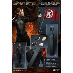 The Hunger Games Mockingjay Part 1 My Favourite Movie Action Figure 1/6 Katniss Everdeen 30 cm