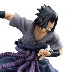 Naruto Shippuden G.E.M. Series PVC Statue Uchiha Sasuke Shinobi World War Ver. 23 cm
