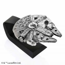 Star Wars Episode V Pewter Collectible Replica 1/144 Millennium Falcon 20 cm