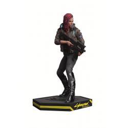 Cyberpunk 2077 Estatua PVC Female V 22 cm