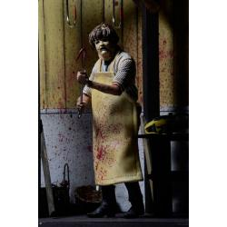 La Matanza de Texas Figura Retro 40th Anniversary Ultimate Leatherface 18 cm