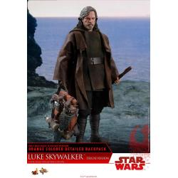 Star Wars Episodio VIII Figura Movie Masterpiece 1/6 Luke Skywalker Deluxe Version 29 cm
