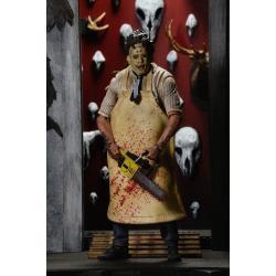 La Matanza de Texas Figura Retro 40th Anniversary Ultimate Leatherface 18 cm