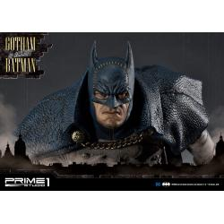 Batman Arkham Origins Estatua 1/5 Gotham By Gaslight Batman Blue Version 57 cm