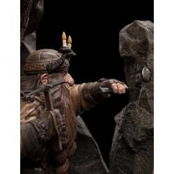 The Hobbit An Unexpected Journey Statue Dwarf Miner 17 cm