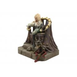 Dentro del laberinto Estatua 1/4 Jareth on Throne 48 cm