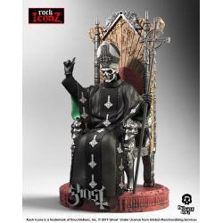 Ghost Estatua Rock Iconz Papa Emeritus II 22 cm