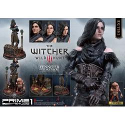 Witcher 3 Wild Hunt Estatua Yennefer of Vengerberg Alternative Outfit Deluxe Version 51 cm