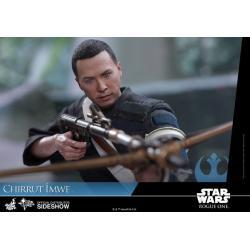 Star Wars Rogue One Figura Movie Masterpiece 1/6 Chirrut Imwe Deluxe Ver. 29 cm