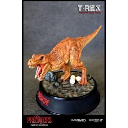 Predators Estatua Predatory Scale T-Rex 23 cm