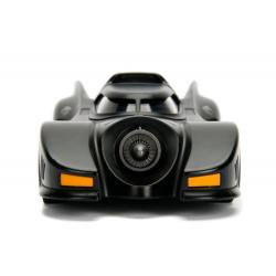 Batman Vehículo Build N\' Collect Diecast 1/24 1989 Batmobile con Figura
