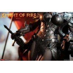 Knight of Fire Figura 1/6 Black Edition 30 cm