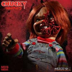 Chucky el muñeco diabólico 3 Muñeca Parlante Designer Series Pizza Face Chucky 38 cm