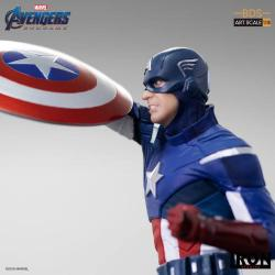 Vengadores: Endgame Estatua BDS Art Scale 1/10 Captain America 21 cm