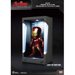 Avengers Age of Ultron Mini Egg Attack Action Figure Hall of Armor Iron Man Mark XLIII 8 cm