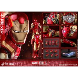 Iron Man Mark XLVI (Concept Art Version) Sixth Scale Figure by Hot Toys DIECAST - Marvel Studios: The First Ten Years