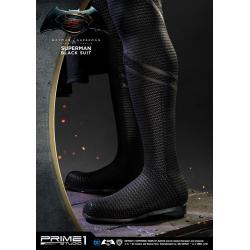 Batman v Superman Dawn of Justice 1/2 Statue Superman Black Suit Ver. 106 cm