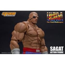 Ultra Street Fighter II: The Final Challengers Figura 1/12 Sagat 19 cm