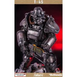 Fallout 4: T-45 Power Armor 1:4 scale estatua