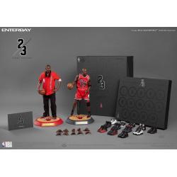 NBA Collection Real Masterpiece Actionfigur 1/6 Michael Jordan (Away) Final Limited Edition 30 cm