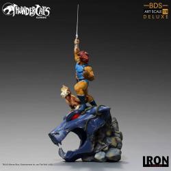 ThunderCats: Los felinos cósmicos Estatua BDS Art Scale 1/10 Lion-O & Snarf Deluxe 43 cm