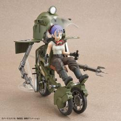 Dragonball Figure-rise Mechanics Plastic Model Kit Bulma\'s Variable No. 19 Motorcycle 16 cm