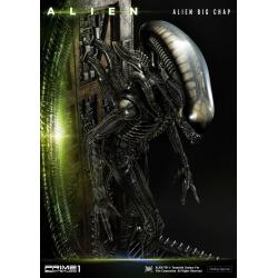Alien Museum Art Statue / Wall Art Alien Big Chap Action 88 cm