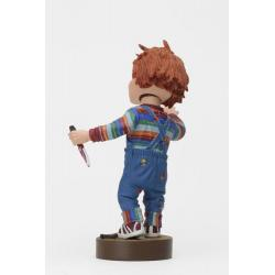 Chucky el muñeco Cabezón Head Knocker Chucky with Knife 18 cm