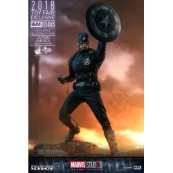 Captain America (Concept Art Version) Sixth Scale Figure by Hot Toys Marvel Studios: The First Ten Years - Movie Masterpiece Series