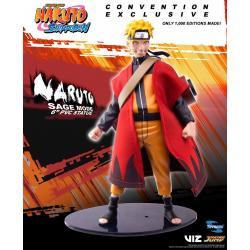 Naruto Shippuden PVC Statue Naruto Sage Mode 2018 SDCC Exclusive 15 cm