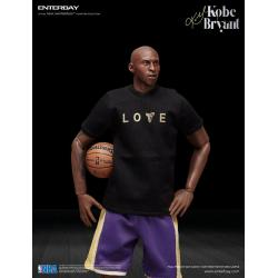 NBA Collection Figura Real Masterpiece 1/6 Kobe Bryant Upgraded Re-Edition 30 cm