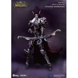 World of Warcraft Battle for Azeroth Figura Dynamic 8ction Heroes 1/9 Sylvanas Windrunner 21 cm