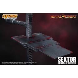 Mortal Kombat Figura 1/12 Sektor 18 cm