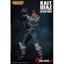 Gears of War 5 Action Figure 1/12 Kait Diaz Arctic Armor 18 cm